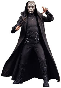 Harry Potter and the Order of the Phoenix NECA 7 Inch Series 2 Action Figure Death Eater [Silver Mask]
