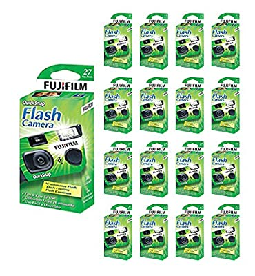 40x Fuji Quicksnap Flash 400 Disposable 35mm Camera 27 Exp 09/2020 Fresh from 21supply