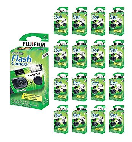 40x Fuji Quicksnap Flash 400 Disposable 35mm Camera 27 Exp 09/2020 Fresh