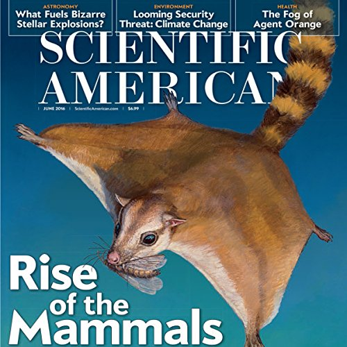 Scientific American, June 2016 audiobook cover art