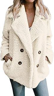 Chaqueta cálido Casual de Las Mujeres de Invierno Outwear Parkas Abrigo Larga de Mujer Talla Grande S-3XL