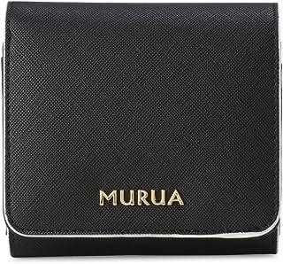 [ムルーア] 二つ折り財布 配色 レディース MR-W562