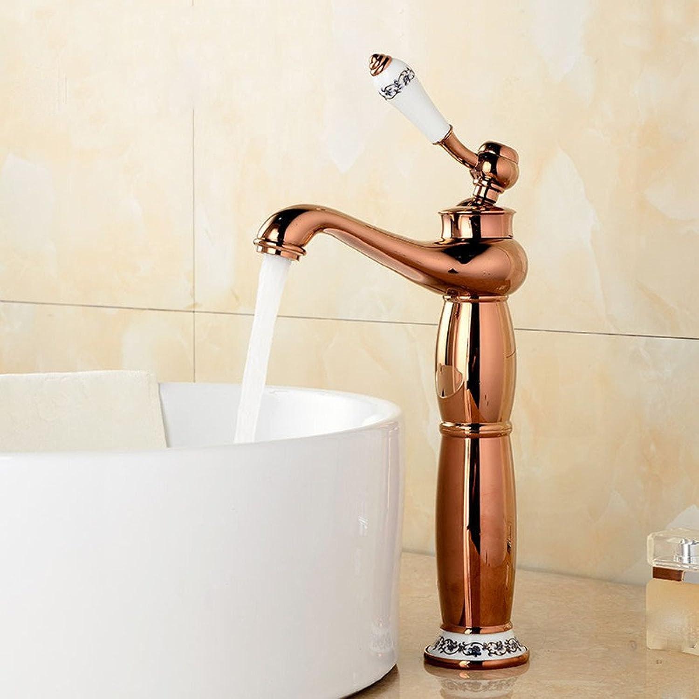 Hlluya Professional Sink Mixer Tap Kitchen Faucet Bathroom Cabinet washbasin console keyboard basin faucet, B