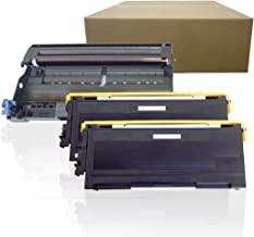 Inktoneram Compatible Toner Cartridges & Drum Replacement for Brother TN350 DR350 DR-350 TN-350 IntelliFax 2820 2910 2920 MFC-7220 MFC-7225N MFC-7820N MFC-7420 HL-2030 HL-2040 HL-2070N (DR,2-TN,3PK)