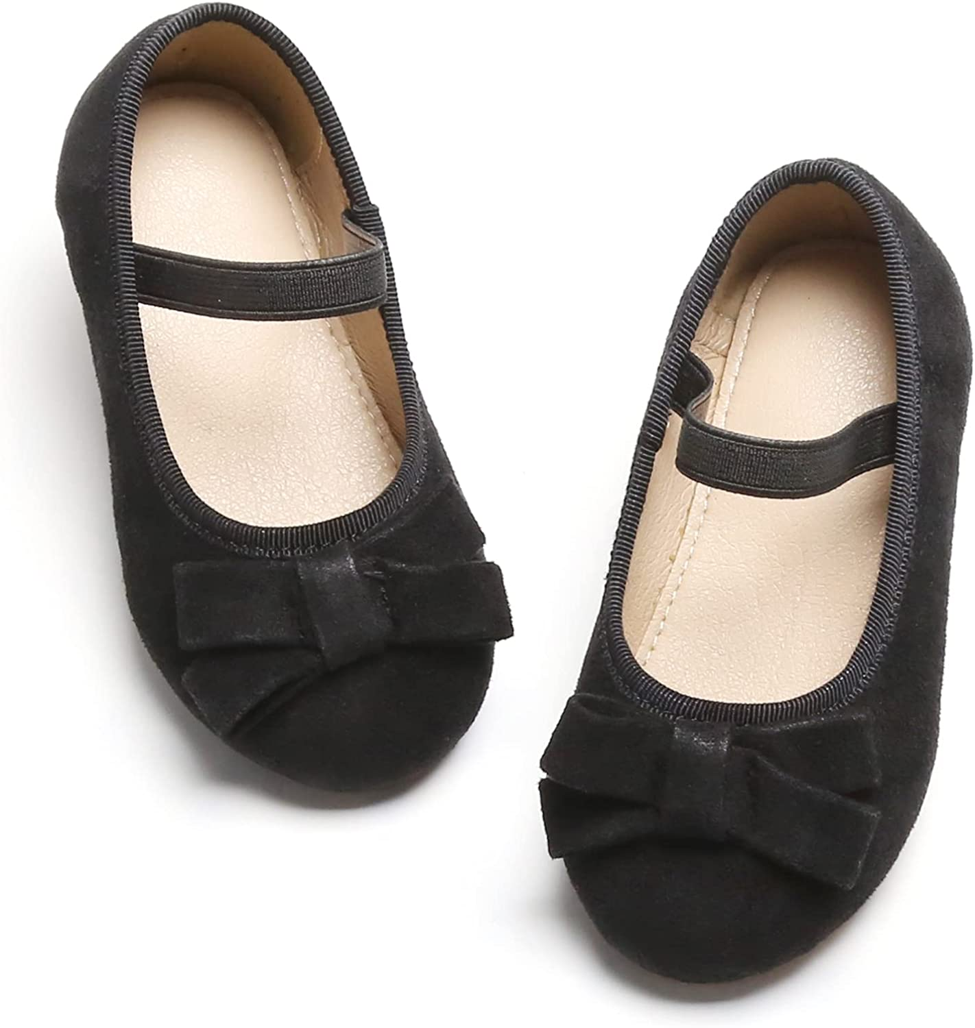 GINFIVE Limited time Baltimore Mall sale Toddler Girls Mary Jane Little Par Ballerina Shoes