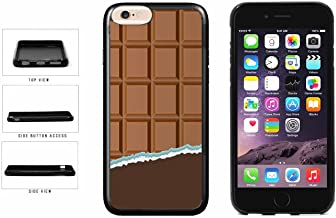 Yummy Unwrapped Chocolate Bar TPU RUBBER Phone Case Back Cover Apple iPhone 6 6s (4.7 inches screen) includes BleuReign(TM) Cloth and Warranty Label
