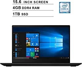 2019 Newest Lenovo IdeaPad S340 15.6 Inch Laptop (Intel Quad-Core i5-8265U up to 3.9GHz, Intel UHD Graphics 620, 4GB DDR4 RAM, 1TB M.2 SSD, WiFi, Bluetooth, HDMI, Windows 10) (Black)