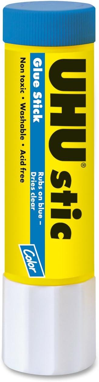 Popularity UHU Glue Stick 0.74 Rapid rise Blue 99602 oz