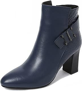 Nine Seven Women's Leather Pointtoe Heel Side Zip