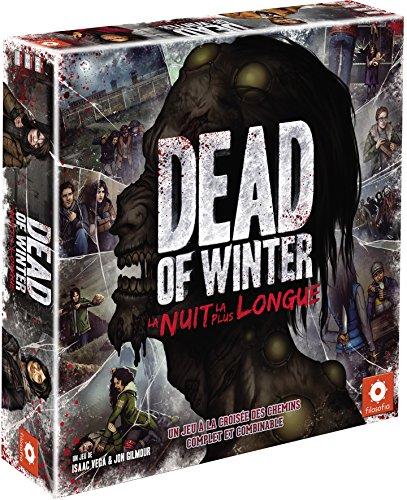 Asmodee Dead of Winter La Nuit la Plus Long Gioco da Tavolo - Gioco di Avventure Semi-Cooperative