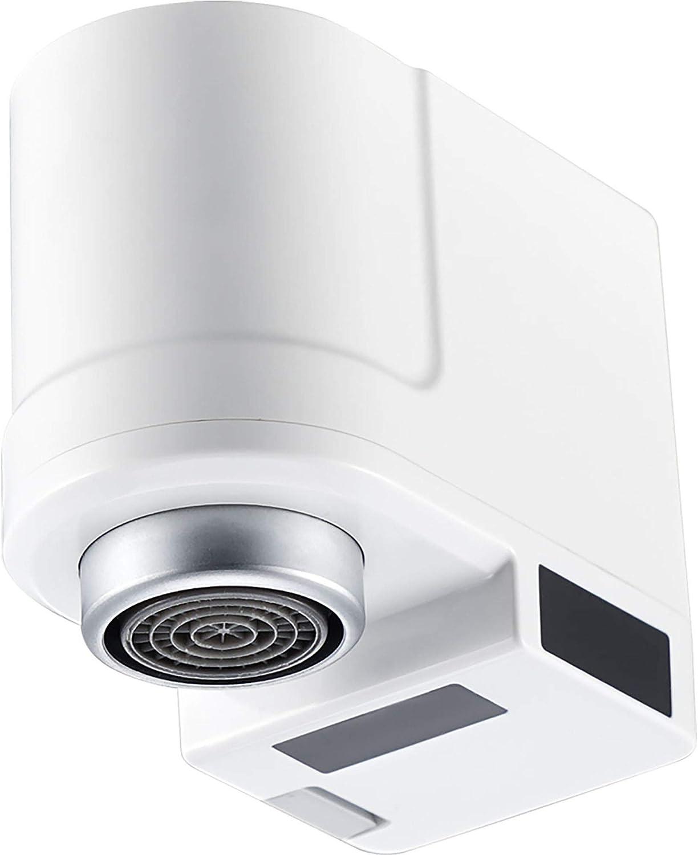 YICI adaptador de grifo sin contacto cocina baño grifo aireador sensor infrarrojo automático anti-desbordamiento fácil de instalar