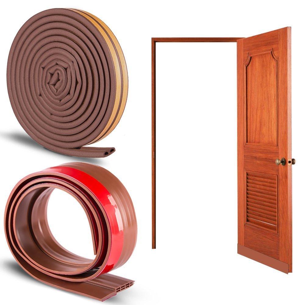 ccmart puerta burlete tira tiempo para desmontar bajo de proyecto de puerta 5 cm ancho x