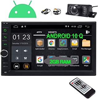 EINCAR Android 10.0 Car Stereo Double Din Car Radio with Bluetooth GPS Navigation System 7 Inch Touch Screen in Dash Head ...