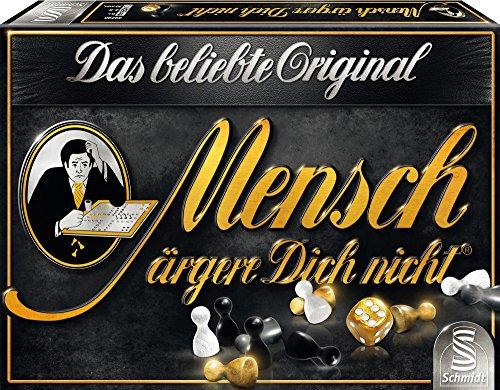 "Schmidt Spiele 49290 - ""BLACK Mensch ärgere Dich nicht Brettspiel"