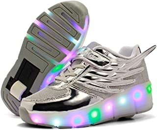 shoes with wheels and lights
