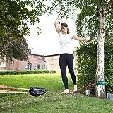 Ultrasport Slackline-Set 15 m lang, 5 cm breit + Baumschutz - 7