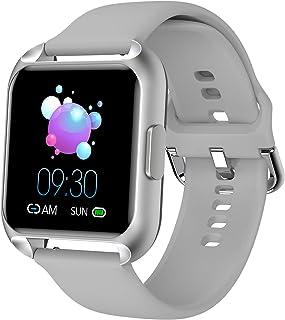 MAXTOP Reloj inteligente compatible con teléfonos iPhone, Android, Samsung, rastreador de actividad cardíaca, monitor de oxígeno en la sangre, reloj inteligente para mujeres y hombres