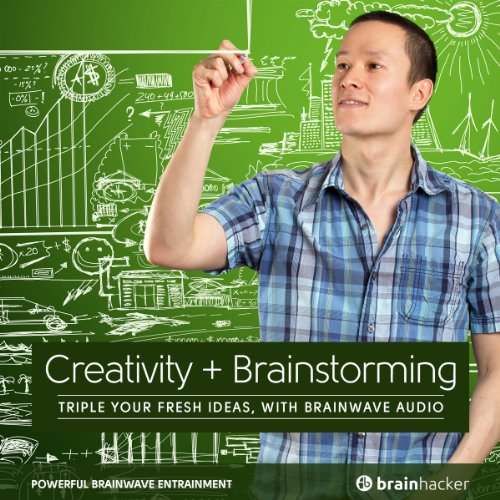 Creativity Plus Brainstorming Session audiobook cover art