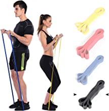 Marsolly Pull Up Assistance Resistance Exercise Bands by Functional Fitness Loop Workout Bands for Stretching, Powerlifting