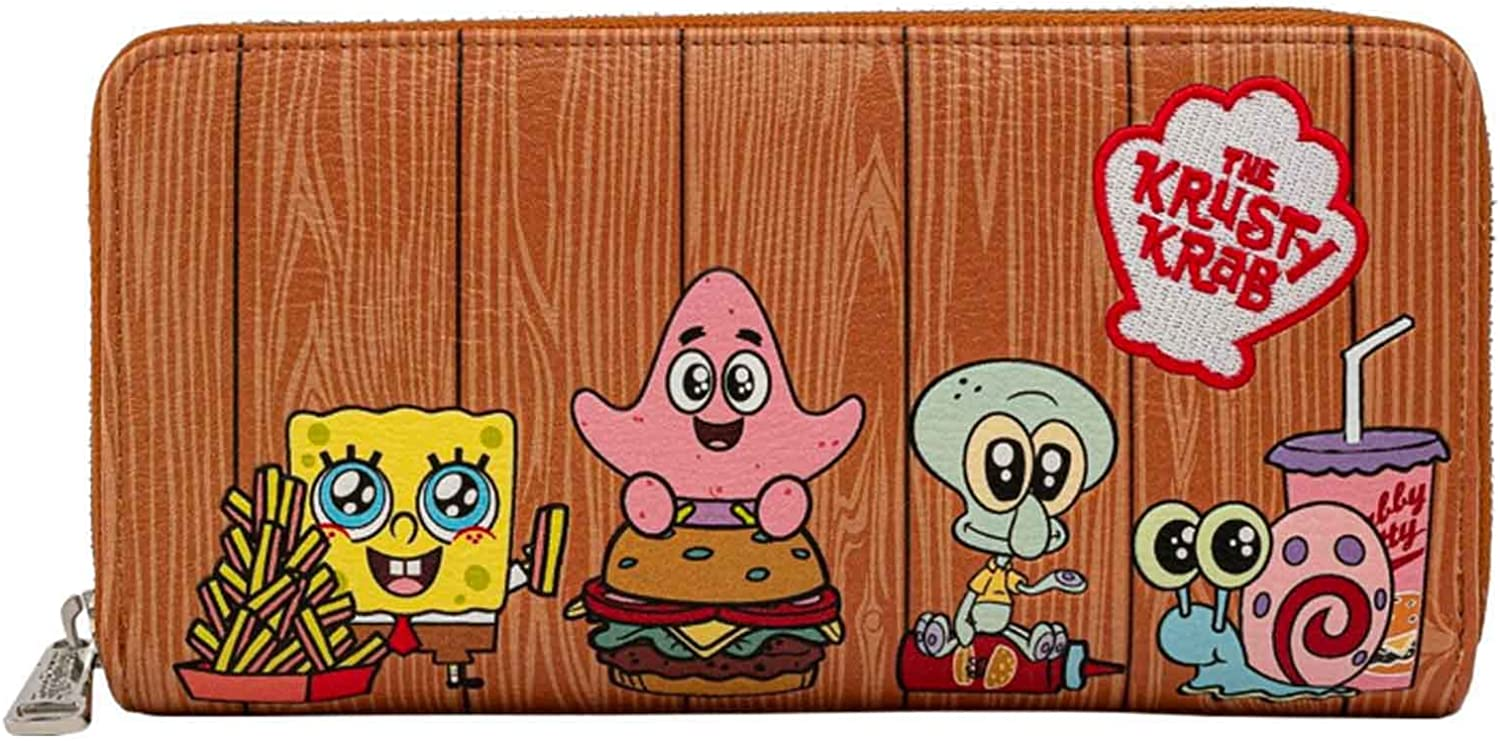 Super Special SALE held Loungefly x Nickelodeon SpongeBob SquarePants Group Krab Special price for a limited time Krusty