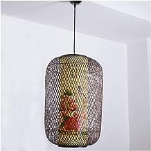 HN Lighting Chandelier Handmade Bamboo Antique Pendant Light Hotel Clubhouse Bamboo Lighting Bamboo Lantern Ceiling Lighting