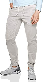 Men's Chino Jogger Pants