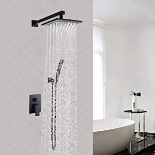 Bathroom Fixtures Senior Hotel Thermostatic Shower Column Wall Mounted Rain Waterfall Shower Panel Mixers Rotate Body Massage Jets Shower System Back To Search Resultshome Improvement