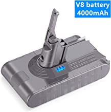 Replacement 21.6V 4000mAh Li-ion Dyson V8 Battery Upgrade for Dyson V8 Absolute Animal Cordless Vacuum Handheld Cleaner