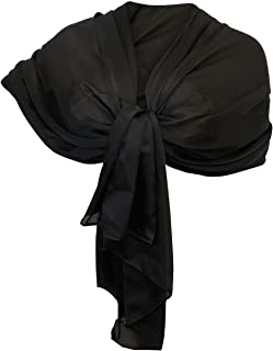 enorme inventario molte scelte di limpido in vista Amazon.it: foulard in seta - Nero / Sciarpe e stole ...