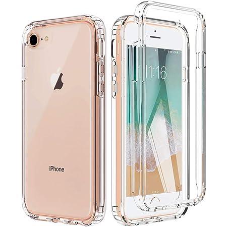 BESINPO iPhone SE ケース 第2世代/ 6s/7/8対応 フルカバー クリア 高透明 TPU 4.7インチ