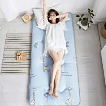 Dorm Single Mattress Tatami Japanese Futon Mattress,Bedroom Double Floor Mat,Foldable Floor Mattress,Anti-Slip Quilted Sle...