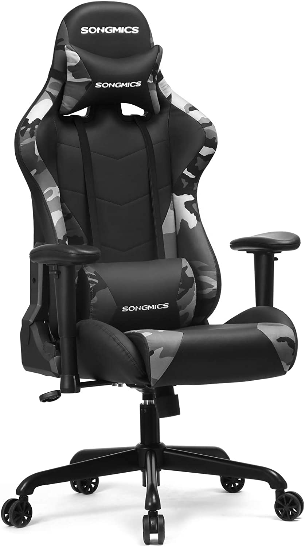 Songmics Gaming Stuhl 150 Kg Burostuhl Schreibtischstuhl