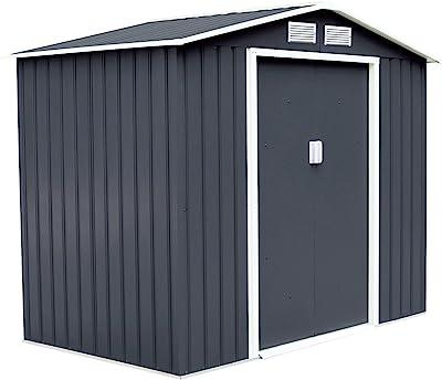TecTake Abri de Jardin en métal cabane à Outils Rangement | + ...