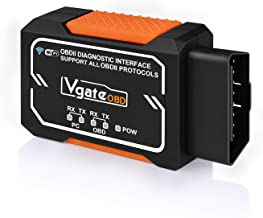 Vgate OBD2 WiFi Scanner, Check Engine Light Diagnostic Tool, OBDII Scan Code Reader, WiFi Scan Tool for Android, iOS & Windows