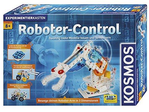 Kosmos 620370 Roboter-Control, 20 Modelle bauen und fernsteuern, mit IR-Fernsteuerung und 3 Motoren,Einführung in die Welt der Robotik, Experimentierkasten