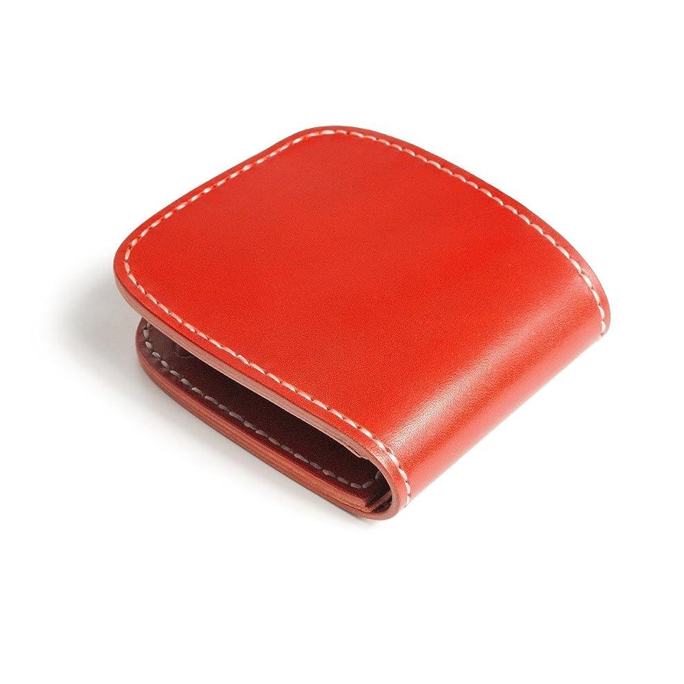 拘束する脇に順応性ハーフウォレット (メンズウォレット) N-1 革財布 ヴォーノアニリン ハンドメイド
