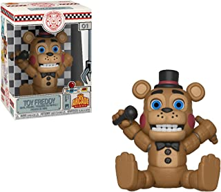 Toy Freddy: Five Nights at Freddy's x Funko Aracde Vinyl Figure & 1 POP! Compatible PET Plastic Graphical Protector Bundle [#001 / 30490 - B]