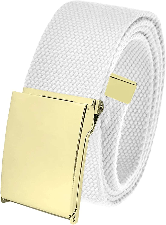 Cut Rapid rise to Fit Men's Golf Belt 1.5 Gold Flip Adjusta Buckle Top Popular with
