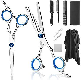 Professional Barber 6.0 Inch Hair Snijden Scharen Verdunnende Scharen Comb Stainless Steel Set High-End Kappen Stylist Sal...