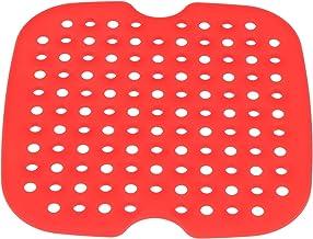 Angoily Esteiras Forros Reutilizável Silicone Antiaderente Fritadeira Ar Fritadeira Ar Fritadeira Ar Acessórios Gadget par...