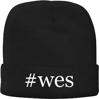 BH Cool Designs #wes - Men's Hashtag Soft & Comfortable Beanie Hat Cap