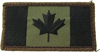 MIL-SPEC Canadian Flag Patch Forest
