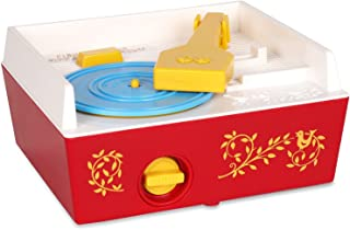 Fisher-Price Classics 1697 Music Box Record Player, Baby Musical Toy, Baby Interactive Toy with 10 Songs, Classic Toy with...
