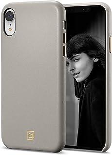 Spigen La Manon Câlin Serisi Kılıf iPhone XR ile Uyumlu / TPU AirCushion Teknoloji / Ekstra Koruma - Oatmeal Beige