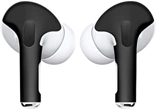 APSkins Skins for AirPods Pro. Protective Wraps Stickers to Cover Air Pods – Compatible Sticker Wrap Decal with Apple Air Pod Pro Accessories - Lifetime Free Replacements (Matte Black)