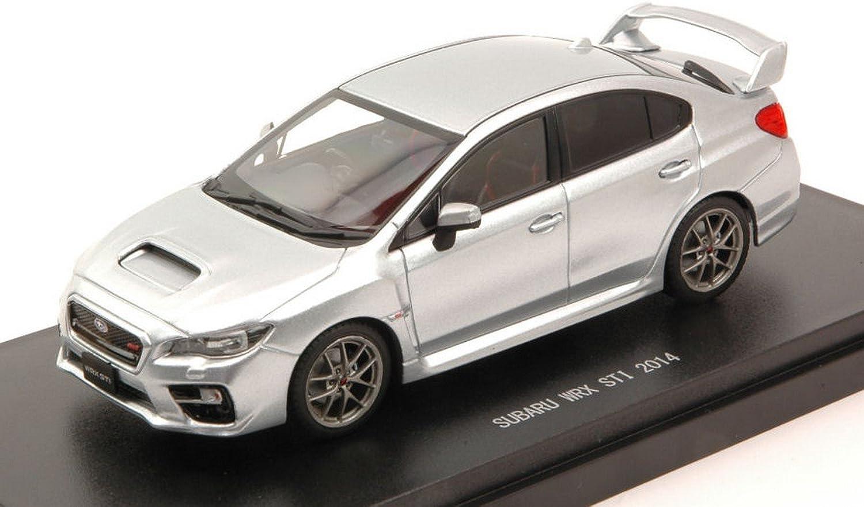 punto de venta Ebbro EB45310 Subaru WRX STI STI STI 2014 plata 1 43 MODELLINO Die Cast Model Compatible con  comprar marca