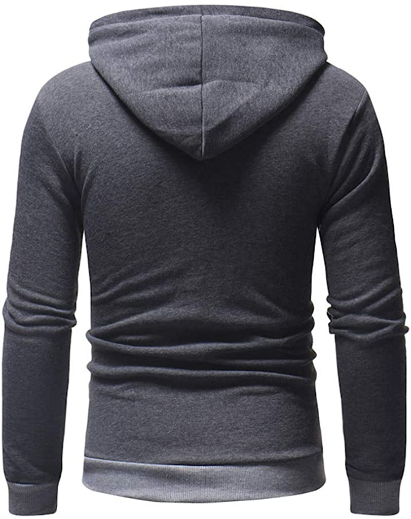 Fastbot Men's Fleece Hoodie Hooded Sweatshirt Christmas Pullover Sweater Casual Soft Stretch Sports Tops Cotton