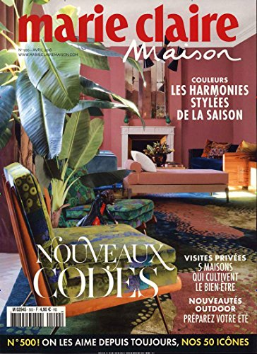 Marie claire maison France [Abonnement jeweils 8 Ausgaben jedes Jahr]