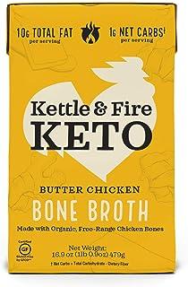 Kettle & Fire, Broth Bone Butter Chicken Keto, 16.9 Ounce
