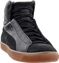 PUMA Mens Naturel Clyde Fshn Mid Casual Sneakers,